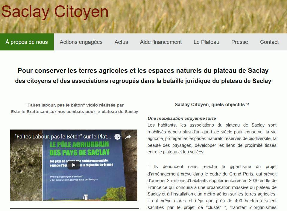 Les terres agricoles du plateau de Saclay, menacées par la construction d'un site technologique
