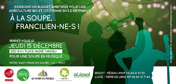 Flyer manifestation 15 décembre