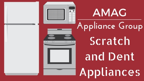 Scratch and dent appliances