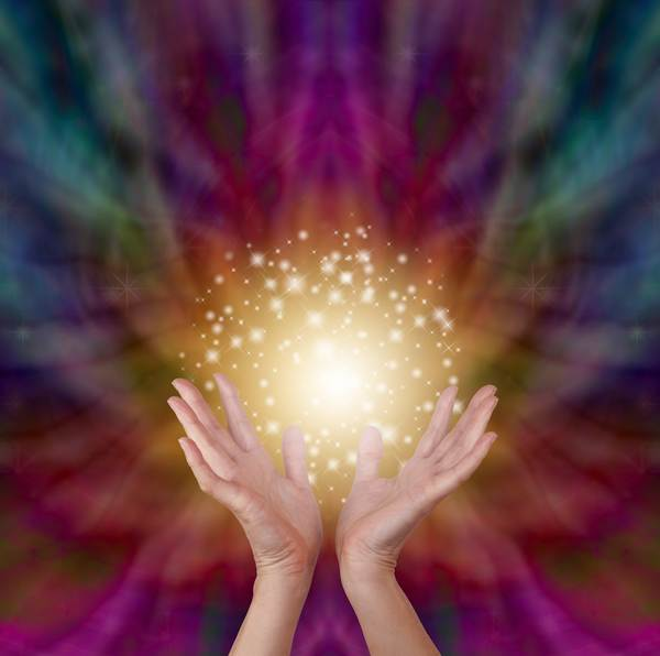 Healing hands energy clearing