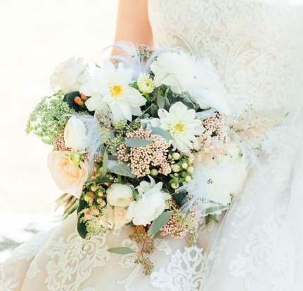 white wedding bouquet merion tribute house amaranth florist, narberth pa