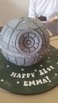 Star Wars Deathstar Cake - Amarantos Designer Cakes Melbourne