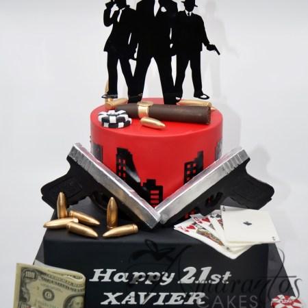 Base cake with Barney- AC163