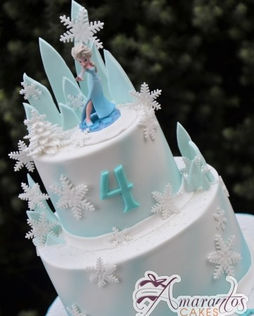 Two tier Frozen Cake – AC323