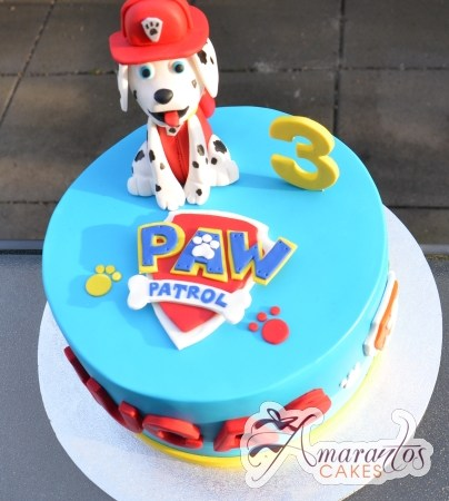 Round Base with Paw Patrol – AC336
