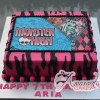 Monster High Birthday Cake - Amarantos Cakes Melbourne