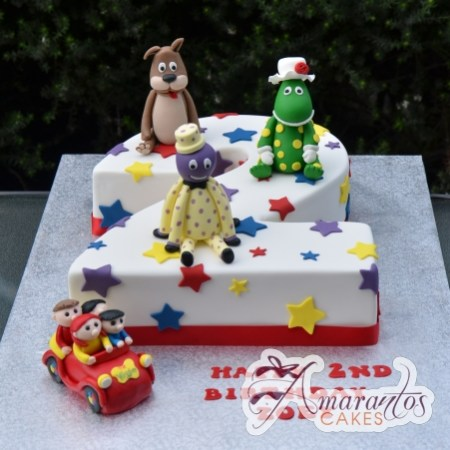 Number Cake with the Wiggles – AC383