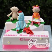 Number Night Garden Cake - Amarantos Designer Cakes Melbourne