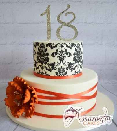 Two tier with damask – AC419