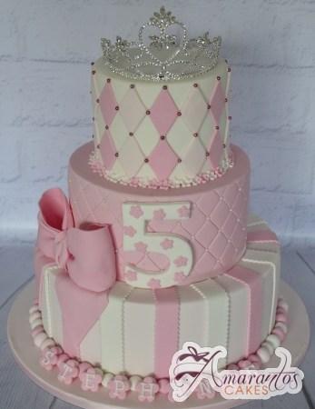 Three Tier Tiara - Amarantos Designer Cakes Melbourne