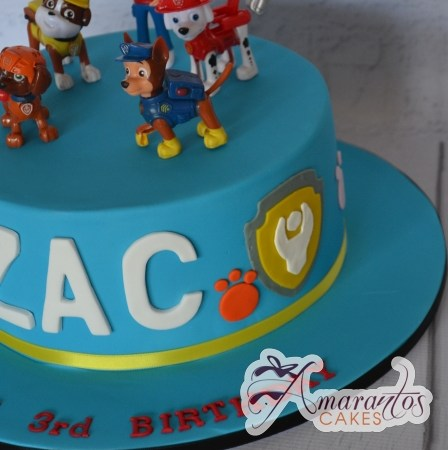 Round Base with Paw Patrol – AC432