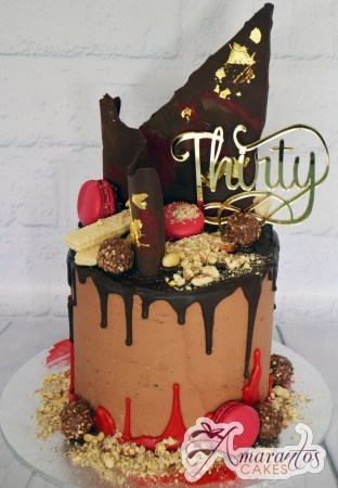 Chocolate cake with Drip – AC442