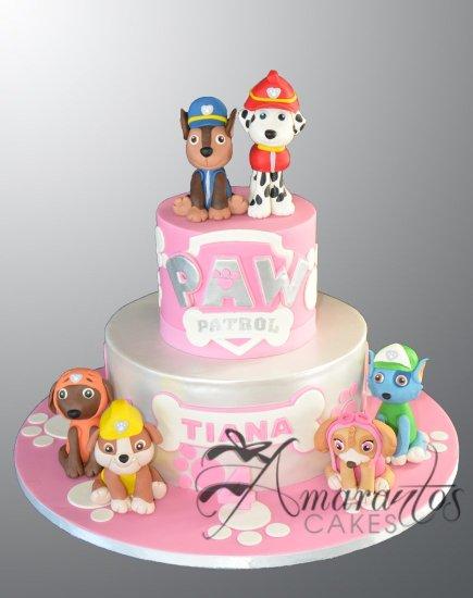Paw Patrol Cake AC486