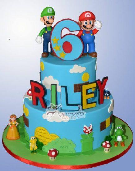 Super Mario cake AC501