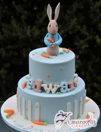 Two tier Peter Rabbit cake – CC98