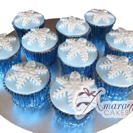 Christmas Cup cakes- CH16