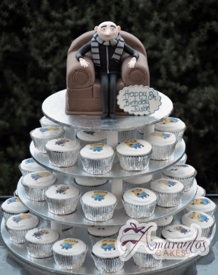 Despicable Me Cup Cake Tower- CT02 1