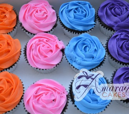 Colourful Cup Cakes- CU07