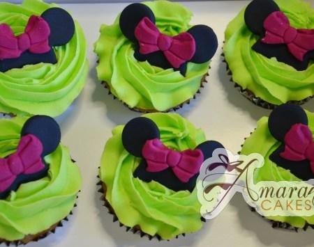 Minnie / Mickey Cup Cakes- CU12
