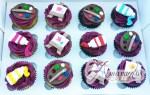 Artist theme cupcakes - Amarantos Designer Cakes Melbourne