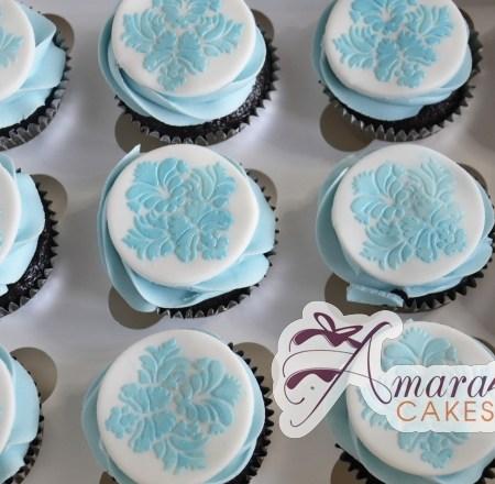 Damask Cup Cakes- CU52