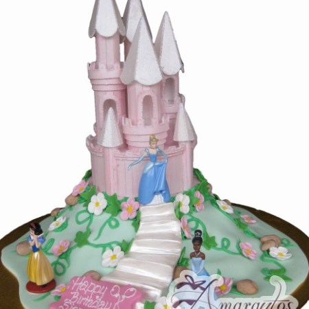 Princess Castle Cake- NC121