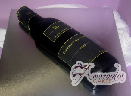 Wine bottle cake NC169