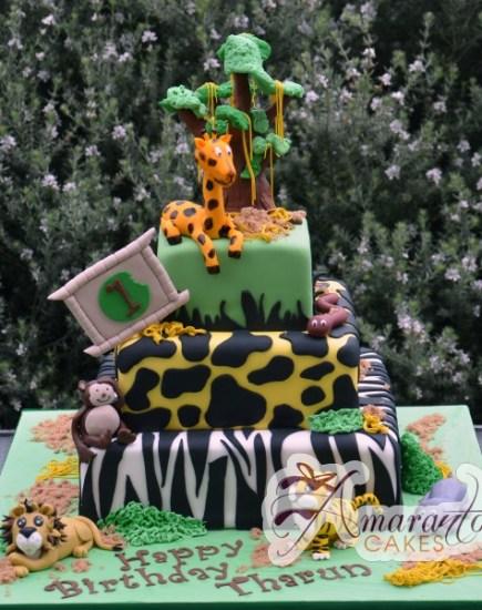 Three tier Jungle theme -NC175 1