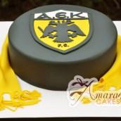 AEK Football Logo- NC186
