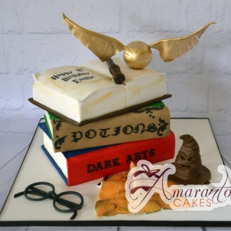 Harry Potter themed cake- NC190