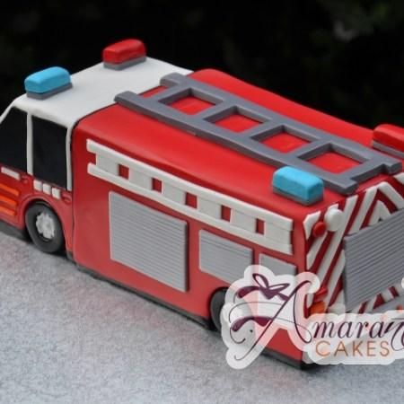 3D Fire Fighters Cake - Amarantos Designer Cakes Melbourne