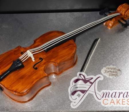 3D Cello / Violin Cake- NC227