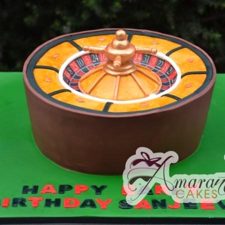 3D Roulette wheel- NC263