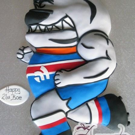 2D AFL Mascot – NC268