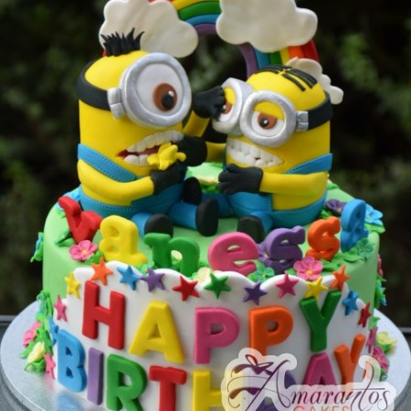 Base Cake with minions – NC277