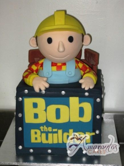 3D Bob the Builder - Amarantos Cakes Melbourne