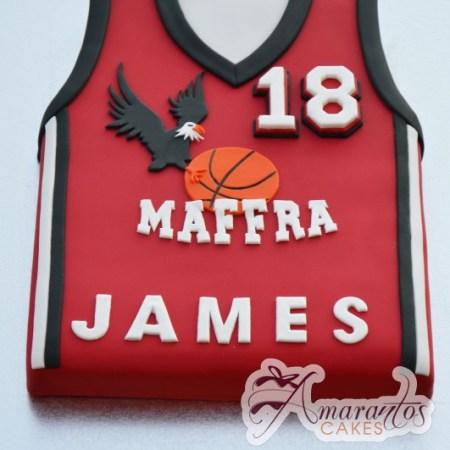 Basketball Jersey- NC413