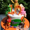 Two tier With Muppets Cake- NC437