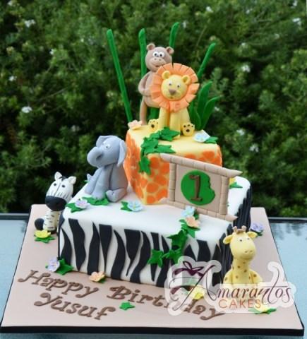 Two tier Jungle theme- NC438