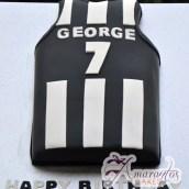 Football Jersey - Amarantos Cakes Melbourne