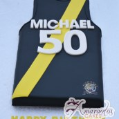 Football Jersey 3D Cake - Amarantos Cakes Melbourne