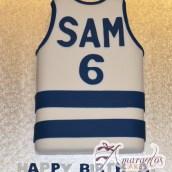 Football Jersey Cake - Amarantos Designer Cakes Melbourne