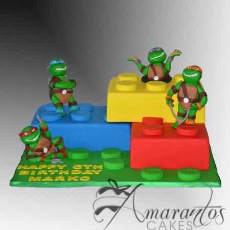 Lego TMNT Cake- NC488