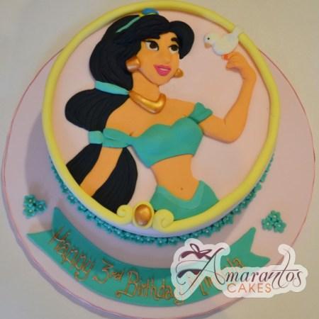 Princess Jasmine Cake- NC491