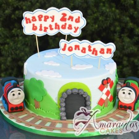 Thomas and Friends Train Cake - Amarantos Designer Cakes Melbourne
