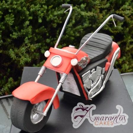 3D motor bike cake - Amarantos Designer Cakes Melbourne