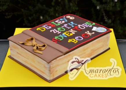 UP Adventure Book Cake - Amarantos Designer Cakes Melbourne