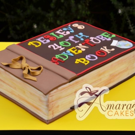 Adventure Book cake from Up Movie – NC610