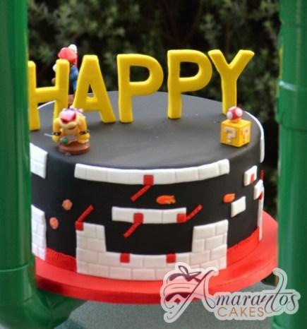 Five Tier Super Mario Cake - Amarantos Designer Cakes Melbourne