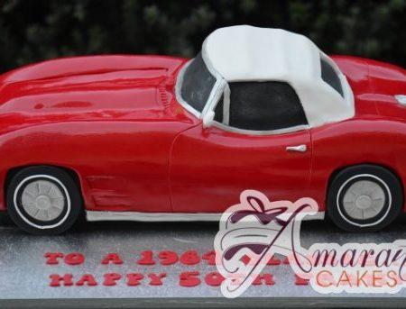 3D Corvette Cake – NC638